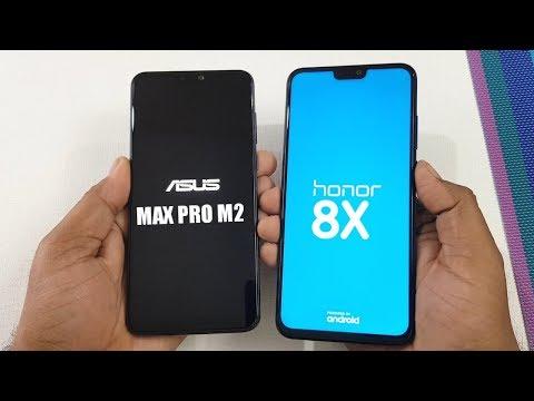 Asus Zenfone Max Pro M2 vs Honor 8X Speed Test & Ram Management Test