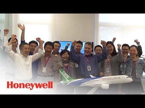 COMAC'S C919 First Flight | Aviation | Honeywell Aviation