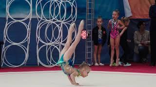Художественная гимнастика 6 лет Калмыкова Софья 5.10.18