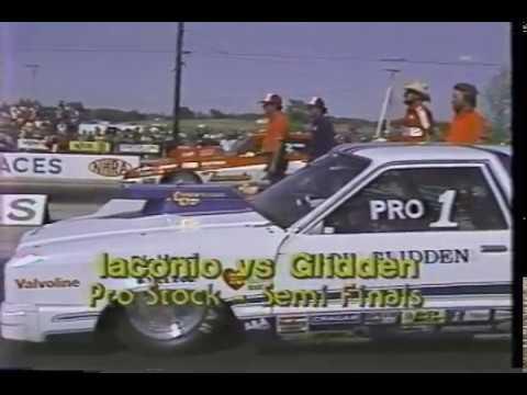 Drag Racing 1980 NHRA Springnationals Columbus PRO STOCK Semi Finals