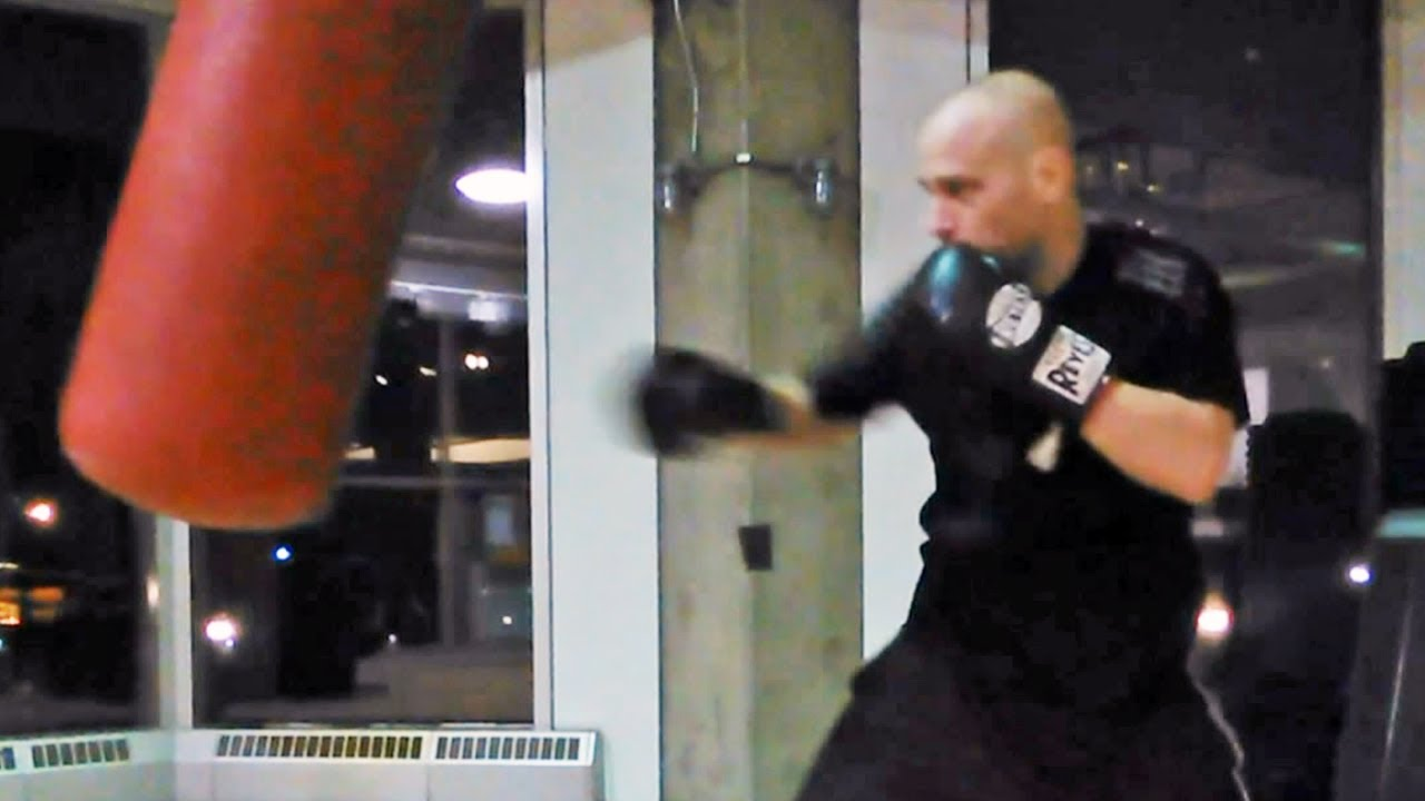 Killer Heavy Bag Workout For Boxing Youtube