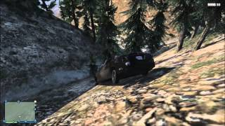 GTAV online: Fun with the Khaos Crew- explosions, robot porn, and driving off Mt Chilead