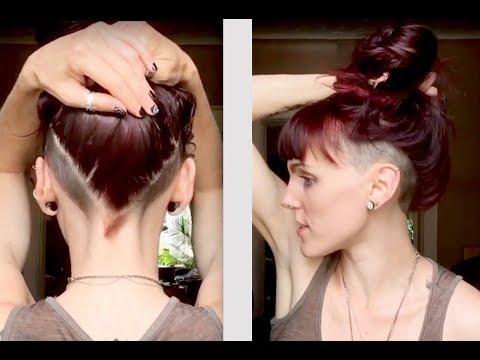 Women S Undercut Double Side Shave Undercut Youtube