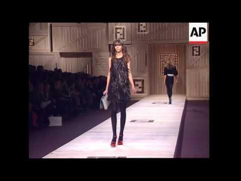 Karl Lagerfeld And Silvia Venturini Fendi Show At Milan Fashion Week Youtube