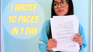 how i wrote my final paper in one day ep 221