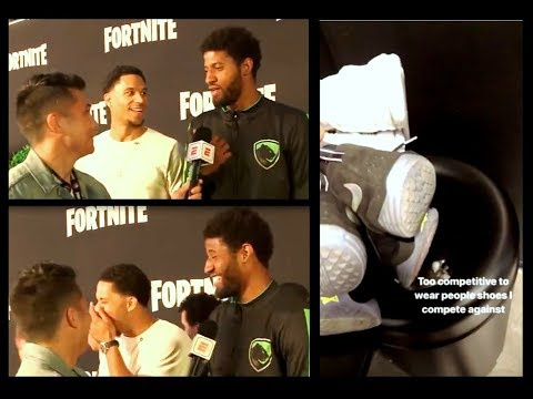Josh Hart Really Threw Out Paul George's Shoes 😂🐐