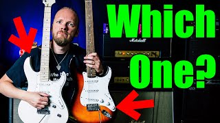 Squier Affinity Stratocaster vs Yamaha Pacifica 112 (Battle of the Strats)