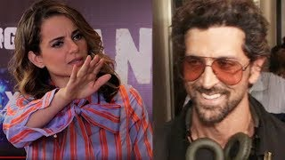 Hrithik Roshan's FUNNY Reaction To Kangana Ranaut's Insult In Aap Ki Adalat