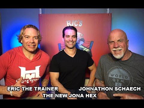 Eric The Trainer & Johnathon Schaech  THE NEW JONAH HEX, Actorbodybuilder