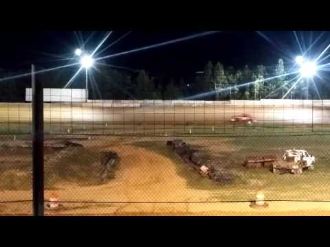 Camden speedway feature race pure street Adam brockwell