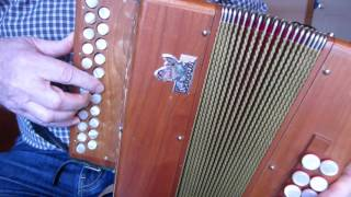 foxhunter's reel in a for c#/d accordion