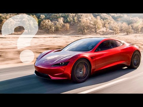 Where is the 2020 Tesla Roadster?