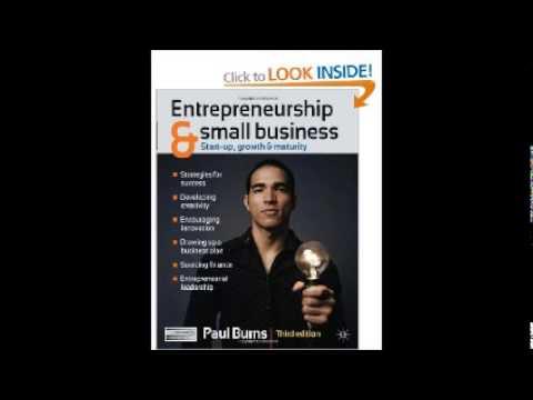 Entrepreneurship & Small Business by Paul Burns