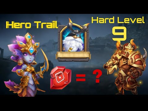 Hero Trial | Hard Level-9 | How Hard It Is? | Castle Clash