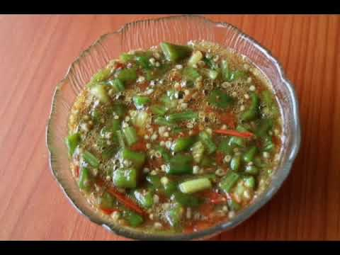 Zambian Food |Delele (Okra) Recipe