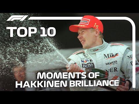 Mika Hakkinen's Top 10 Moments Of Brilliance