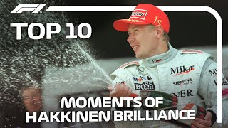 Mika Hakkinen's Top 10 Moments Of Brilliance