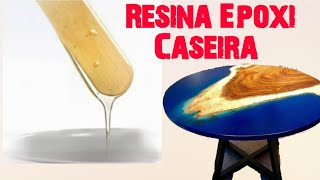 Resina Epoxi Caseira Para Artesanatos