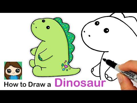 How to Draw Pickle the Dinosaur   Moriah Elizabeth