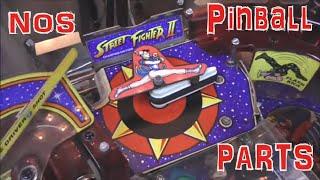 Finishing Up Our Gottlieb Street Fighter II Pinball Machine Repair - NOS Parts, Then I Beat Matt Up
