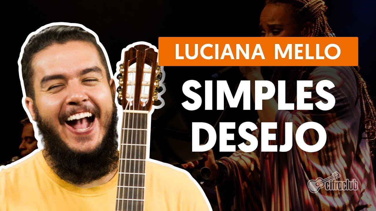 Simples Desejo - Luciana Mello (aula de violão completa)