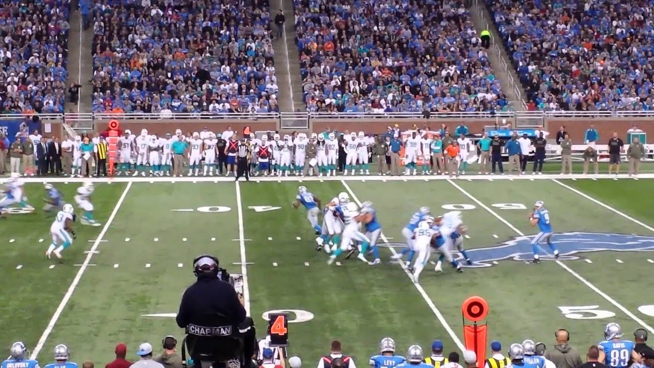 lions vs dolphins