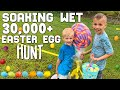 HUGEST Easter Egg Hunt EVER || Mommy Monday