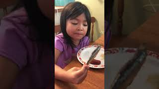 5 year old kid loves eating tuyo (specially it's head)
