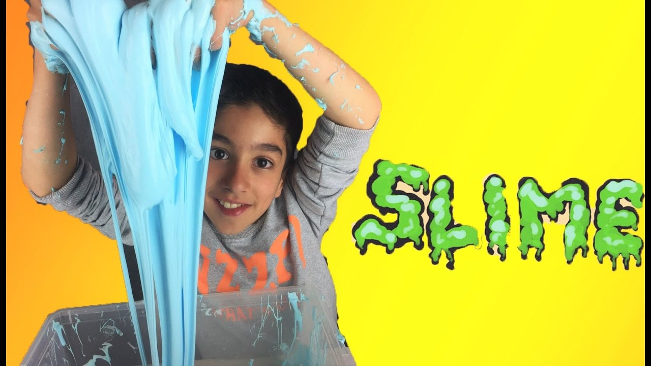 On Fabrique Un Geant Slime How To Make Diy Slime