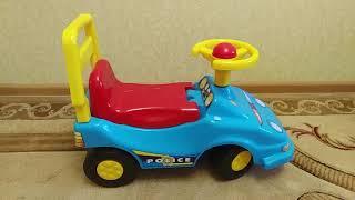 Обзор детской машины для прогулок от TechnoK Toys (толокар, машинка, игрушки для детей) | Laletunes