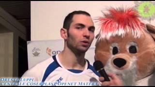 29-12-2013: Intervista a Oreste Luppi nel post Matera-Corigliano 3-2