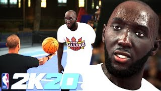 "NBA 2K20 - 7'7"" TACKO FALL vs 5'9"" Isaiah Thomas 1v1 