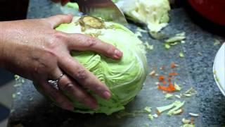 Making Our Own Sauerkraut!