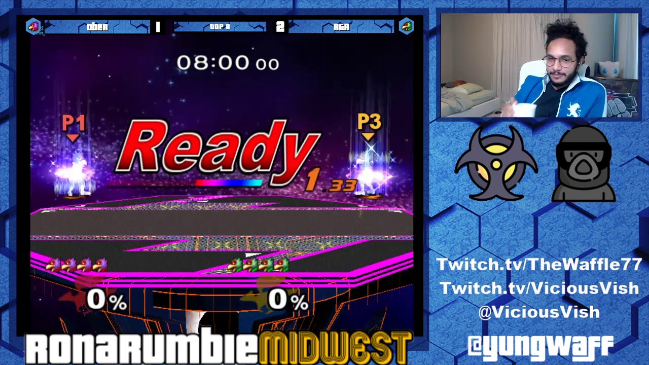 R&R (Green) vs Ober (Red) | Loser's Quarters | Rona Rumble: Midwest V