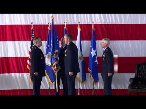 Air Force Space Command Change of Command
