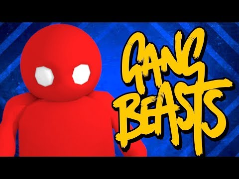 RED TEAM FOR DA WIN? Gang Beasts Online With Dem Salty Bois