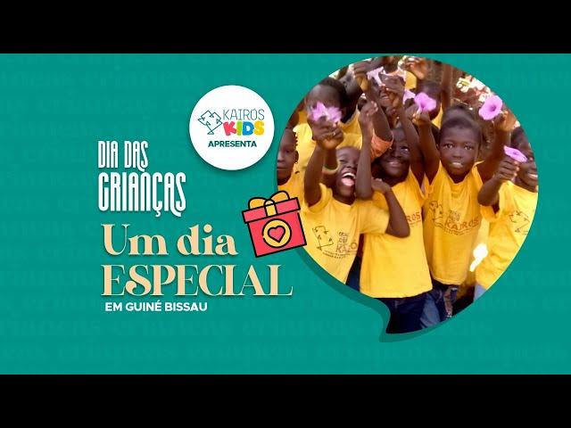 UM DIA ESPECIAL -  O Dia das Crianças em Guiné-Bissau