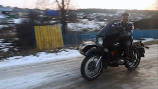 Черный УРАЛ на ходу, после капиталки/ Карбюраторы PZ30 на Урал
