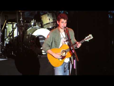 John Mayer - I'm on fire/Never gonna stop this train (Live at London Wembley Arena)