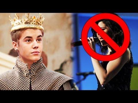 Justin Bieber Bans Selena Gomez On Set