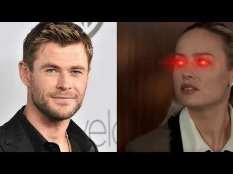 Brie Larson Snaps At Chris Hemsworth Over Tom Cruise Comparison