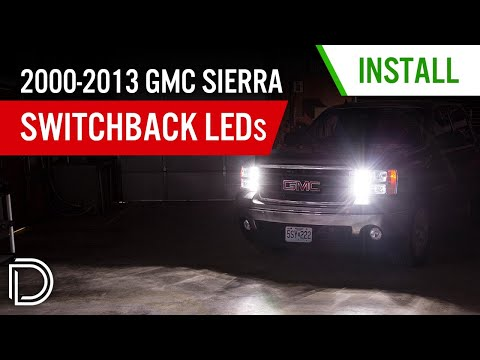 How to Install 2000-2013 GMC Sierra Switchback Turn Signal LEDs | Diode Dynamics