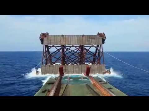 OFFSHORE 8 Leg Jacket Launch