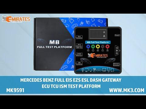 WWW.MK3.COM Mercedes EZS EIS ELV ESL ECU TCU ISM Dash Gateway Test Cable Kit