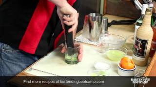 How To Make A Caipirinha - Latin American Drinks 2 Of 3 - Bartending Bootcamp