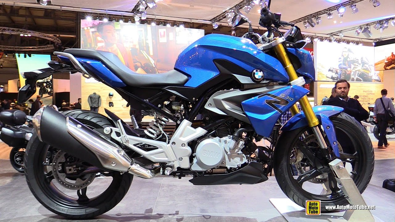 2016 bmw g310r walkaround debut at 2015 eicma milan youtube. Black Bedroom Furniture Sets. Home Design Ideas