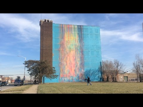 Mural In Detroit Is At The Center Of Controversy