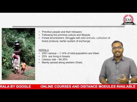 KAS Mentor Online Video Lecture Series - KERALA TRIBAL CULTURE - KERALA (ART & CULTURE)