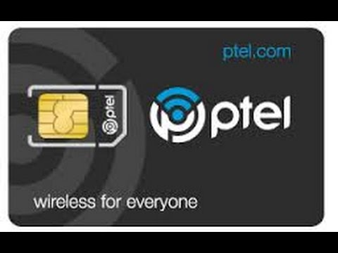Ptel Mobile Sim Card Give Away W/ Purchase of  Discounted Plan