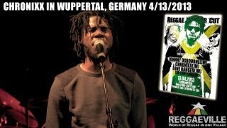 Chronixx & Zinc Fence Band - Beat & A Mic @ U-Club in Wuppertal, Germany 4/13/2013